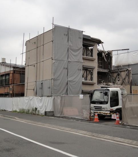 鶴見区 鉄骨造アパート3棟解体工事
